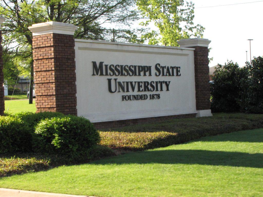 Mississippi State University Sign