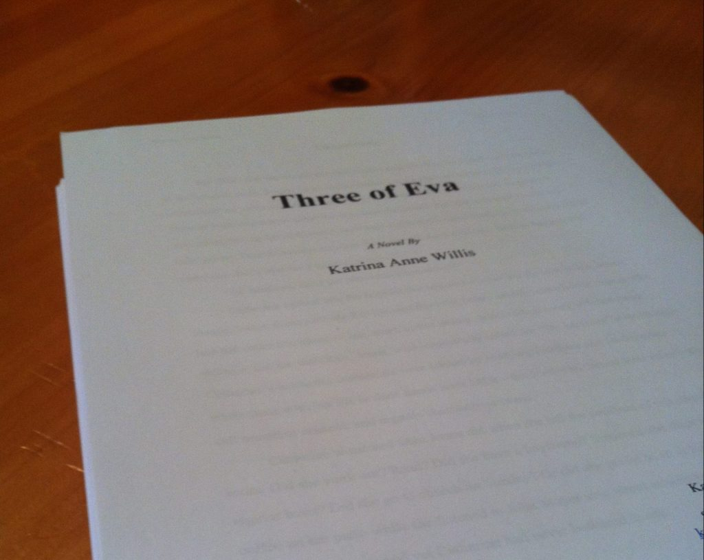 Three of Eva Cover Page