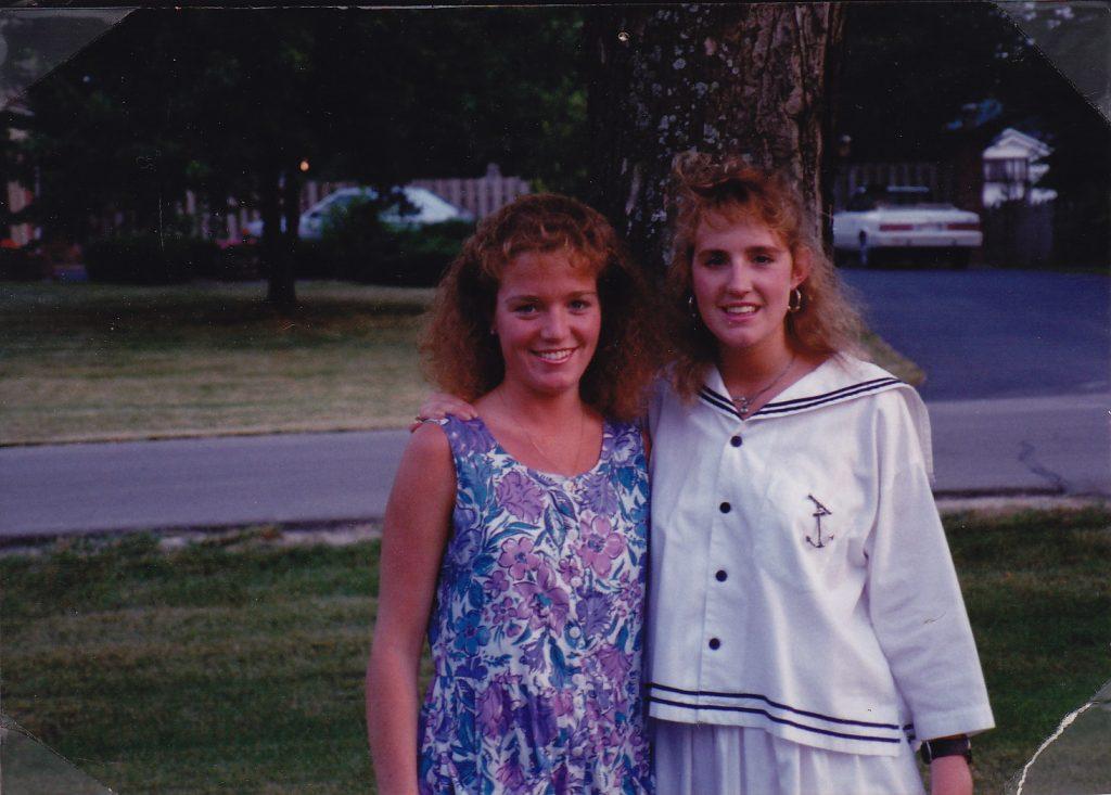 Katrina and Andi Wearing Laura Ashley