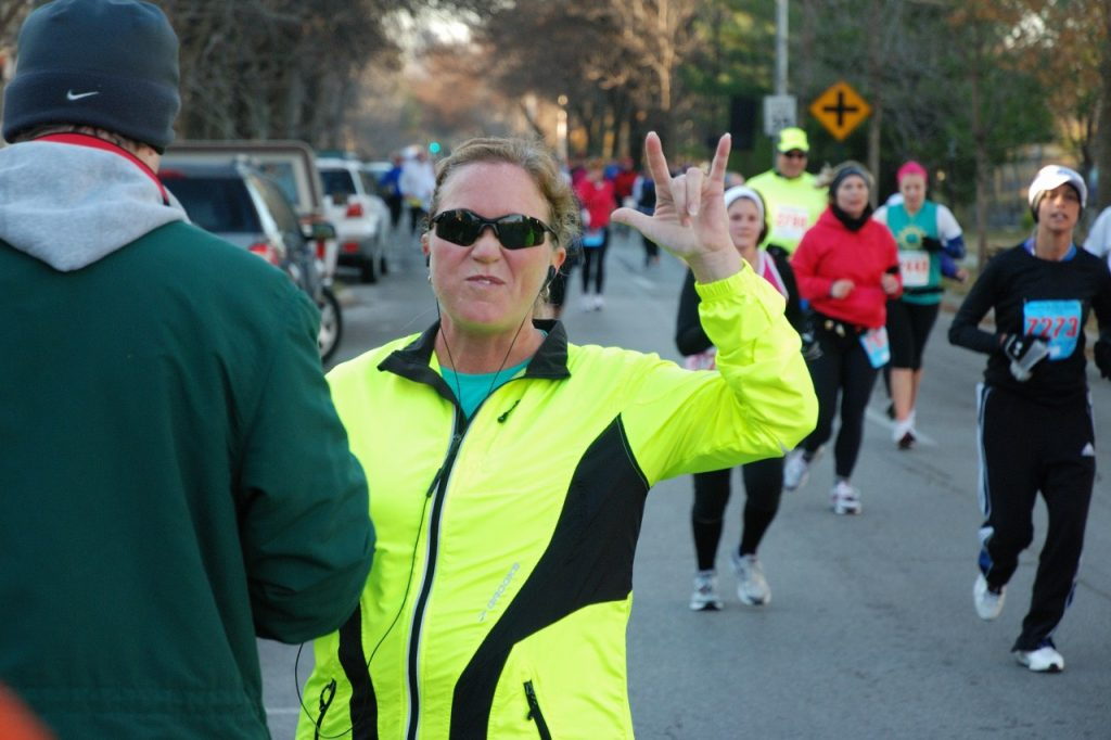 Katrina Running a Marathon