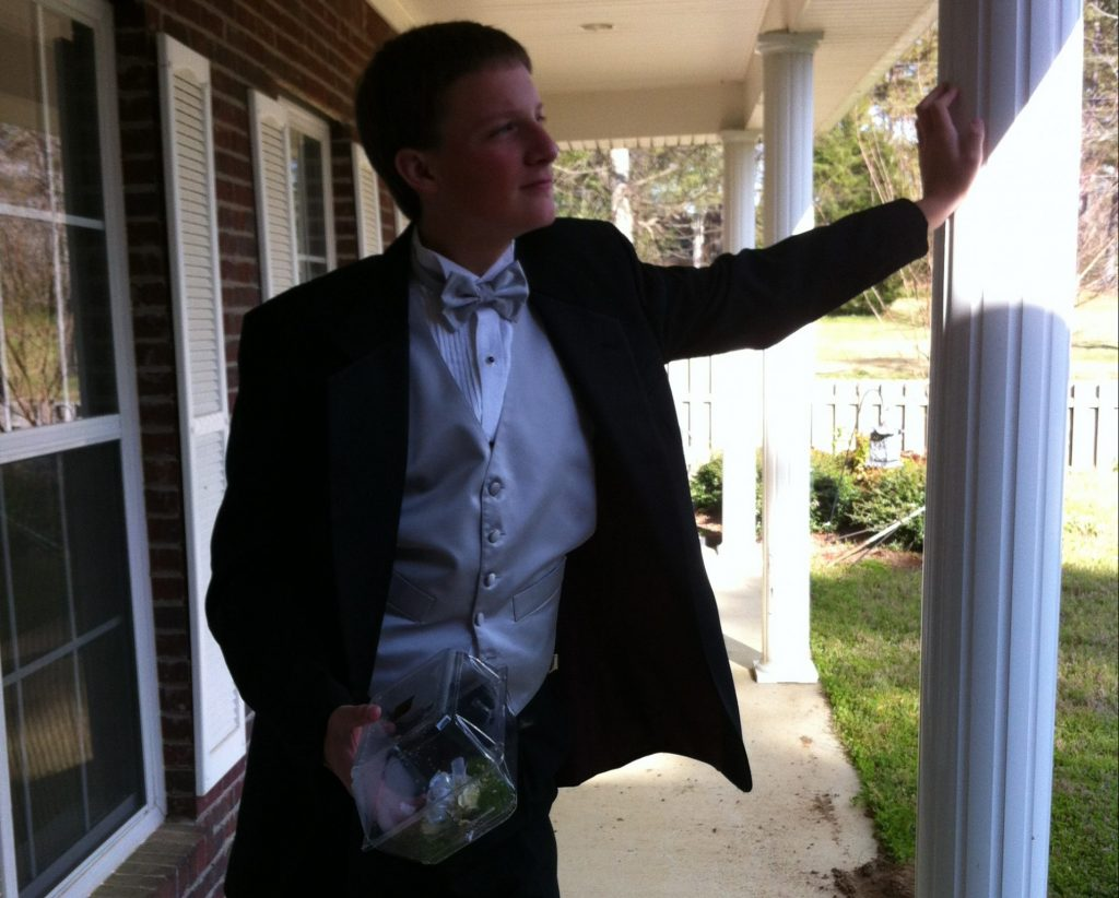 Sam's Prom Picture