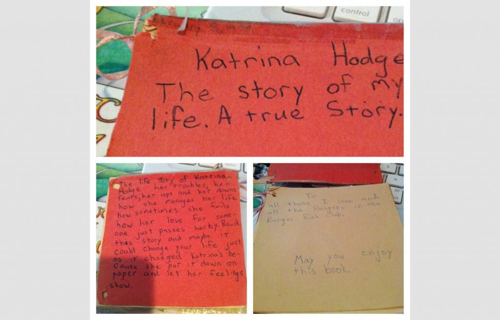 Katrina's 8-Year-Old Autobiography