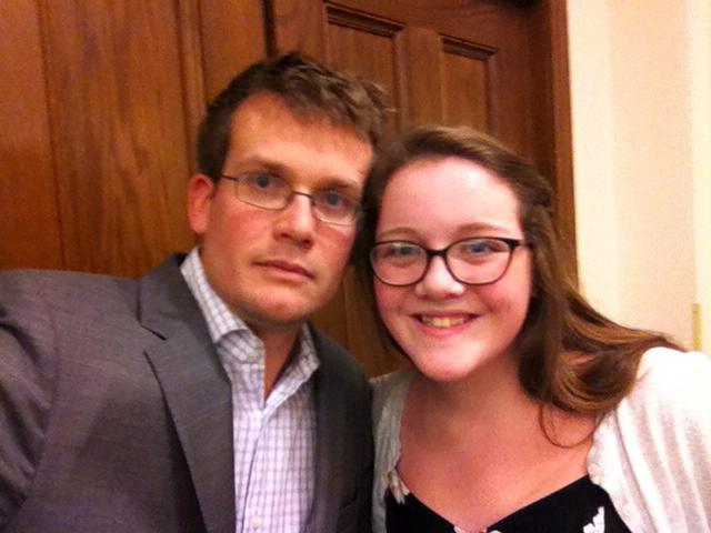 Mary Claire and John Green