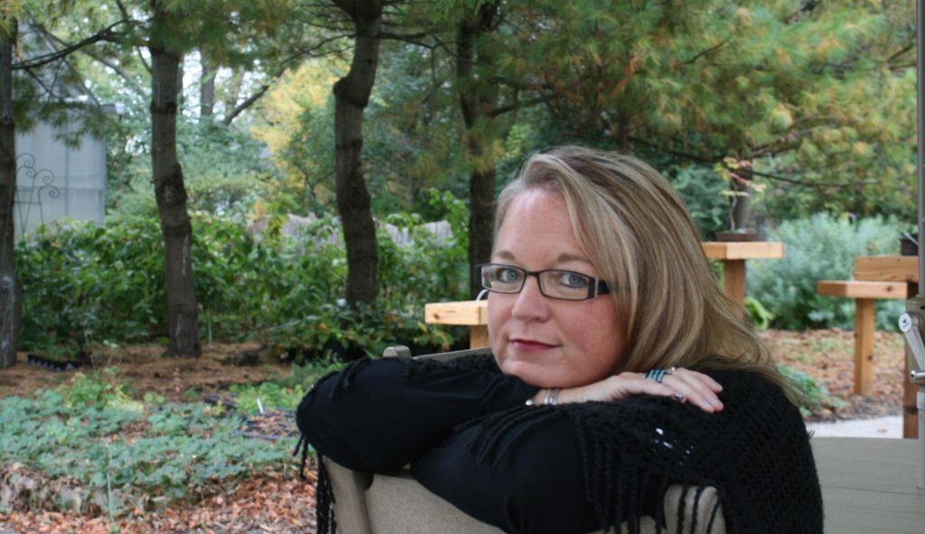 Katrina Anne Willis Sitting in a Chair