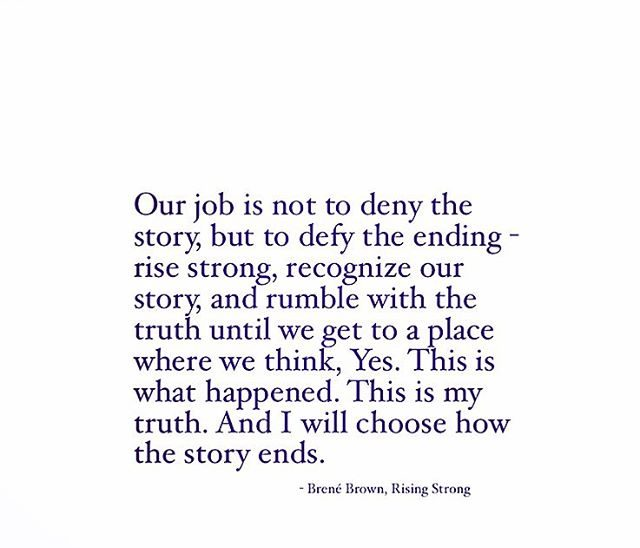The Ending by Brene Brown